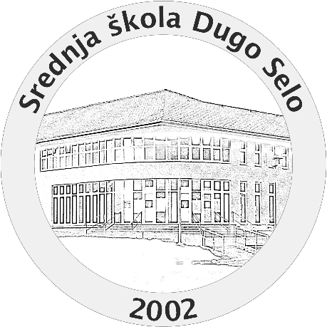 The logo of Srednja škola Dugo Selo